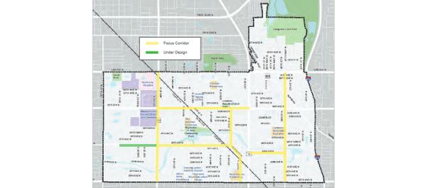 Linking Lealman Map | Pinellas County | Transportation