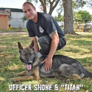 Officer Shone | Titan | St. Petersburg Police