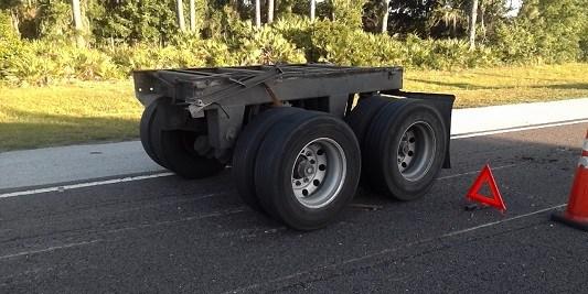 Tractor-Trailer Crash | Florida Highway Patrol | I-75 Crash