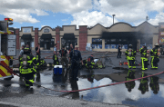 Fire Damages Tampa Strip Shopping Center