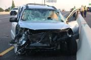 Three Injured in U.S. 19 Crash