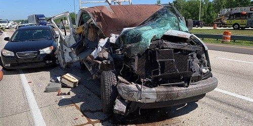 FHP: 5-Vehicle Crash on I-75 Caused When Driver Spilled Coffee