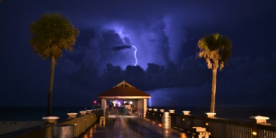 Clearwater Beach | Lightning | Weather