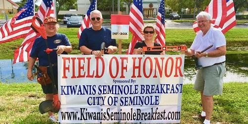 Kiwanis Seek Sponsors for Flags in 'Field of Honor' | Tampa
