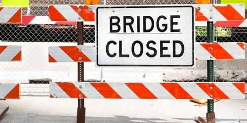 Bridge Closed | Road Closed | Traffic