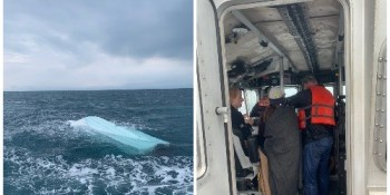 Coast Guard | Overturned Boat | Public Safety