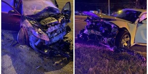 Head-On Crash | Hillsborough sheriff | Deputy-Involved crash