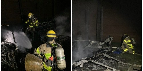 Blake High School | Tampa Fire | Maintenance Shed