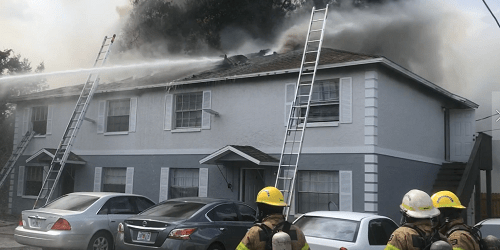 Tampa Apartment Fire | Tampa Fire Rescue | TB Reporter
