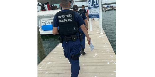Coast Guard   Illegal Charter   TB Reporter