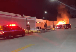 Cortez Boulevard   Walmart   Fire