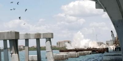 Tierra Verde | Old Bayway Bridge Underwater Demolition | FDOT