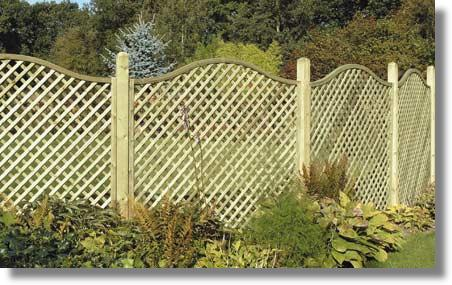 Garden Fencing DoncasterTimber Fence panels Vertilap
