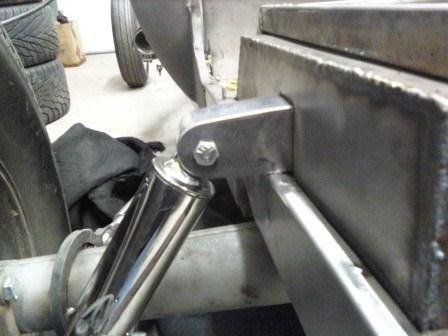 Russ Freund Takeout T bucket rear shock mount