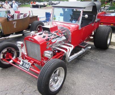 T-Bucket Nationals Tim Taylor 1923 T-Bucket hot rod roadster