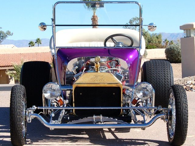 California Custom Roadsters T-Bucket Kits Front End Plans