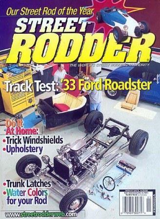 Bill Kestener CCR T-Bucket Street Rodder May 2004 CCR T-Bucket