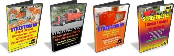 StreetRod 101 DVDs