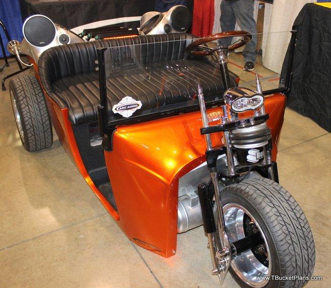 Fiberglass Trike Bodies Used: Corbin Merlin Roadster Reverse Trike