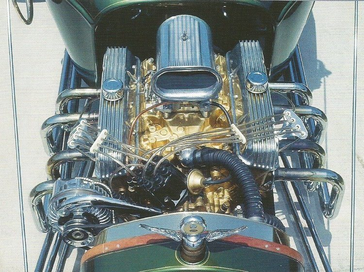 1915 T-Bucket Dan Woods Buick engine