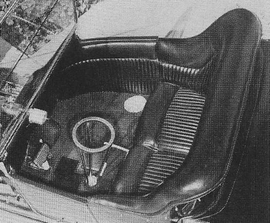 Dan Woods 1915 T-Bucket interior