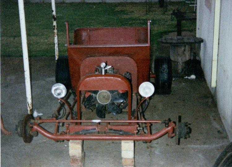 T-Bucket Steel Body Marius Mouton