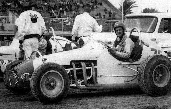 Sacramento, California car builder and driver Walt Reiff