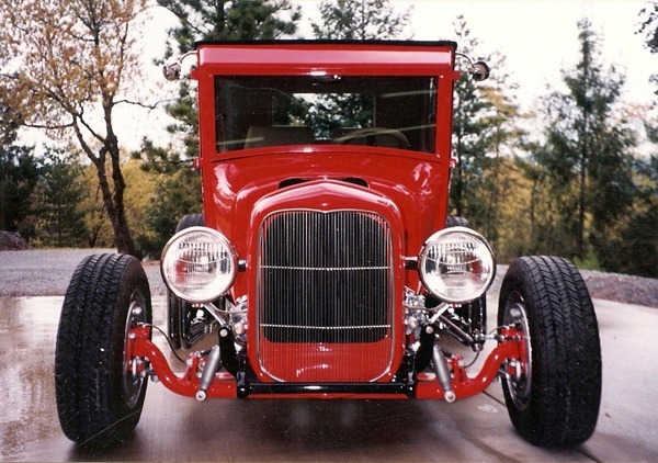 1927 Model T Coupe Hot Rod