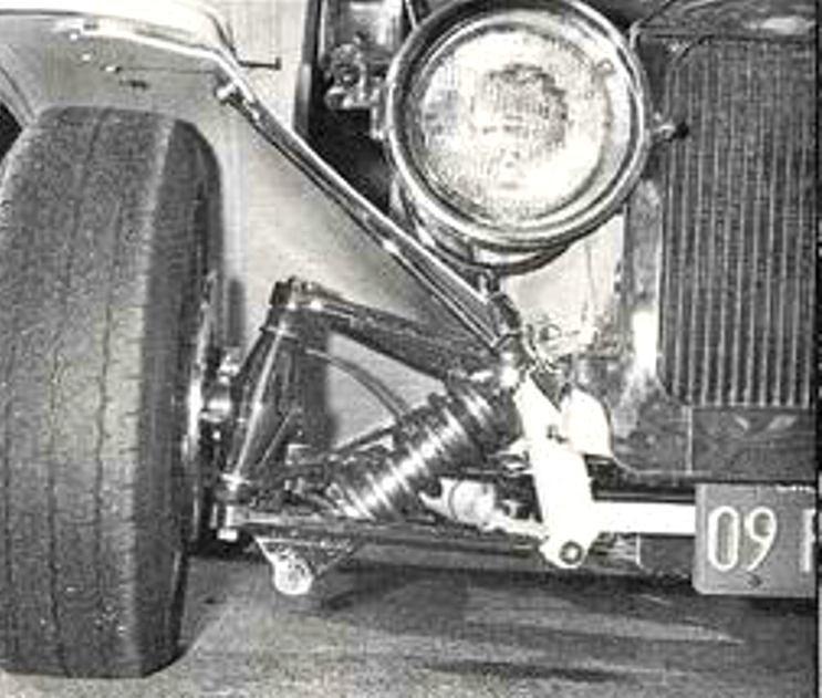 Dan Woods Butcher Truck C-Cab Bob Reed front suspension