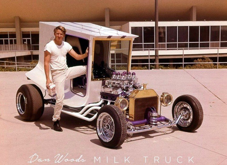 Dan Woods Milk Truck C-Cab Show Car