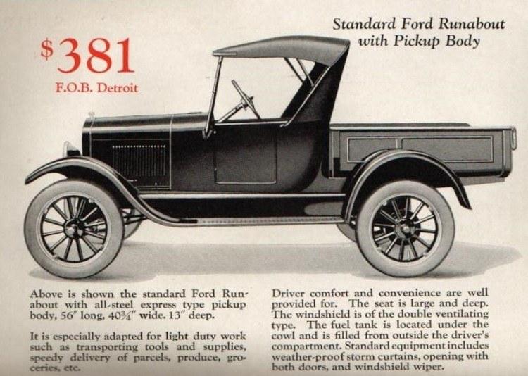 1926/27 T a T-Bucket