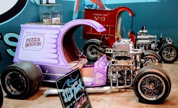 Galpin Auto Sports Dan Woods Pizza Wagon