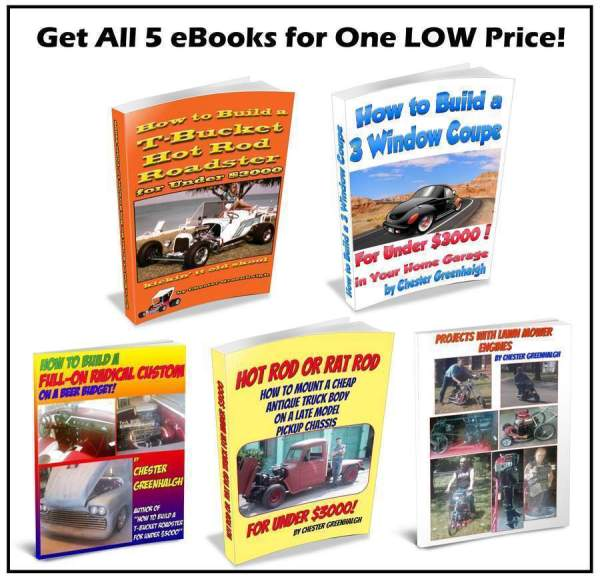 Budget Hot Rod How To Books