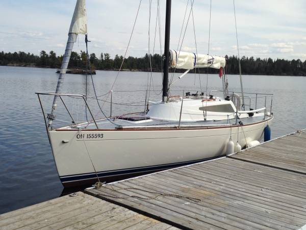 1977 Lindenberg 26 Sailboat Thunder Bay Yacht Club