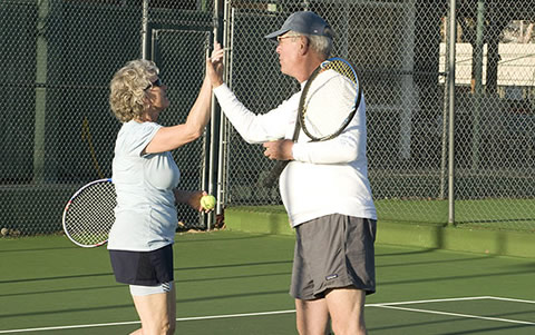 USTA Mixed Double League Signups