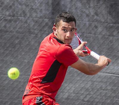 Lobo tennis player Samir Iftikhar courtesy of UNM ejohnson@abqjournal.com Thu Apr 10 12:08:16 -0600 2014 1397153294 FILENAME: 170039.jpg