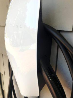Tesla wall charger