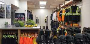 clothes and supplies at Working Gear
