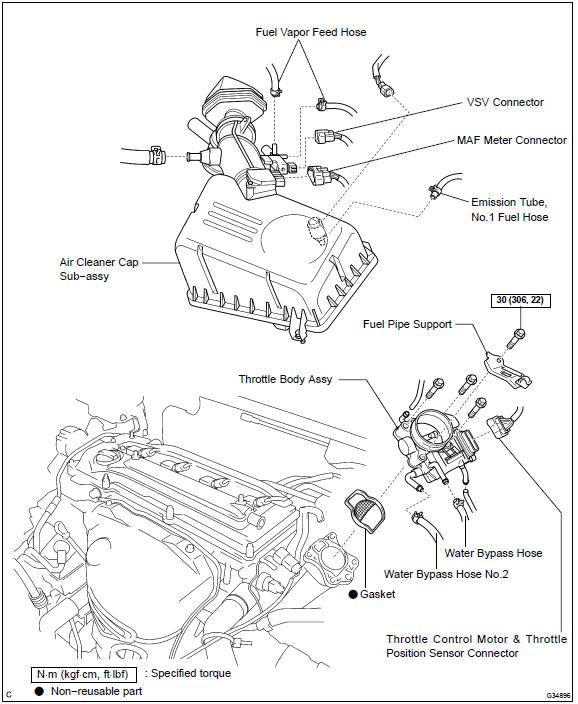Engine Manifold Vacuum Diagram Vacuum Line Diagram Wiring