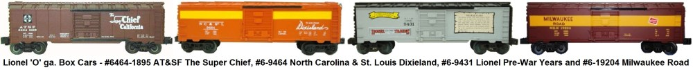 medium resolution of  lionel o gauge 6464 1895 at sf the super chief 6