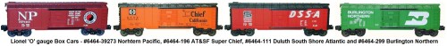 small resolution of  lionel o gauge 6464 39273 northern pacific