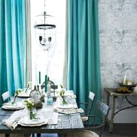 Turquoise is the new Black for your Living Room Home Decors
