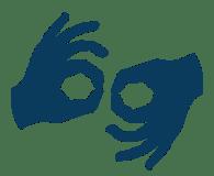 Resultado de imagen de sign language