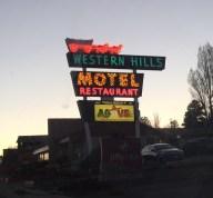 Western Hills Motel on Rt. 66