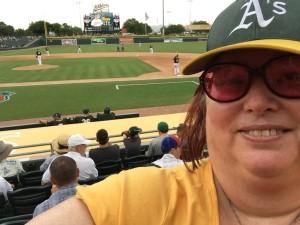 Coco Crips photobomb my selfie (sort of)