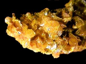 Fig. 3a Orpiment mineral. Source.