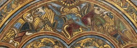 Book of Kells, f. 2r, detail