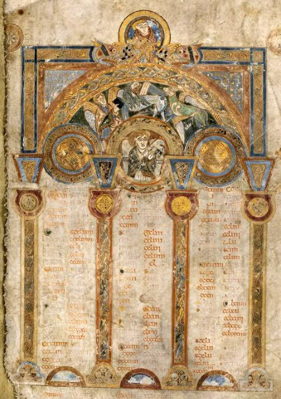Figure 3 The Book of Kells, ca.800, TCD MS 58, f. 3r © The Board of Trinity College Dublin, the University of Dublin. 2015.