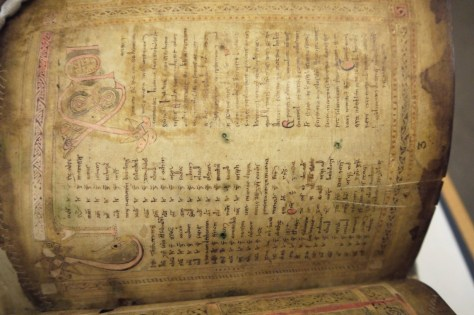 Figure 3 Book of Dimma, TCD MS 59, f.3 © The Board of Trinity College Dublin, the University of Dublin. 2015.