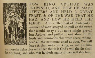 Arthur crowned